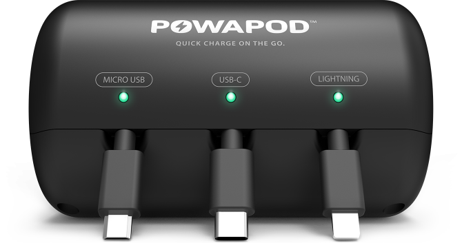 PowaPod Backseat Charger